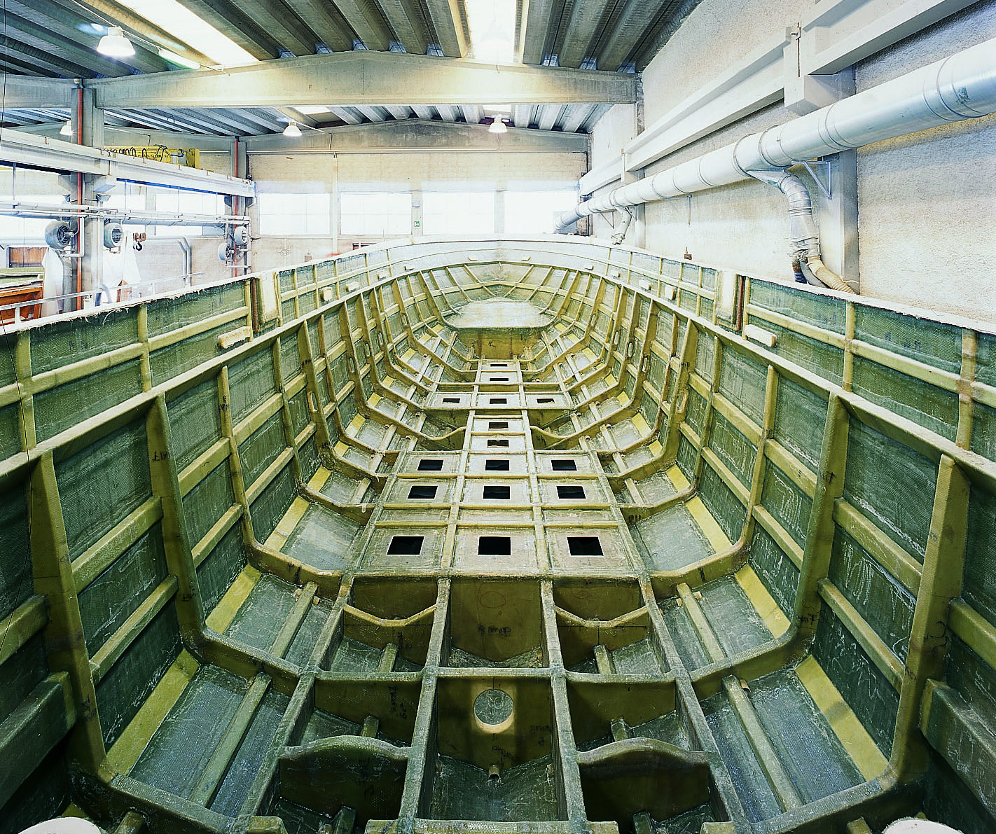 inside the hull
