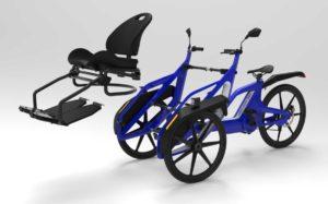 A high tech taxi bike