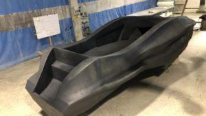 MAMBO: a fiberglass 3D printed boat